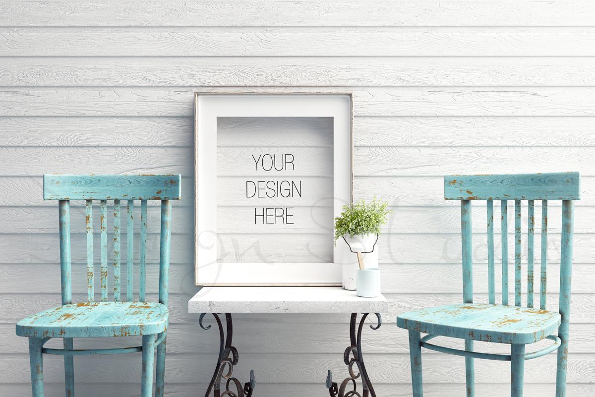Styled Stock Photography, Frame Mockup, white Frame mockup, Styled Photography Mockup, stock photo example image 2