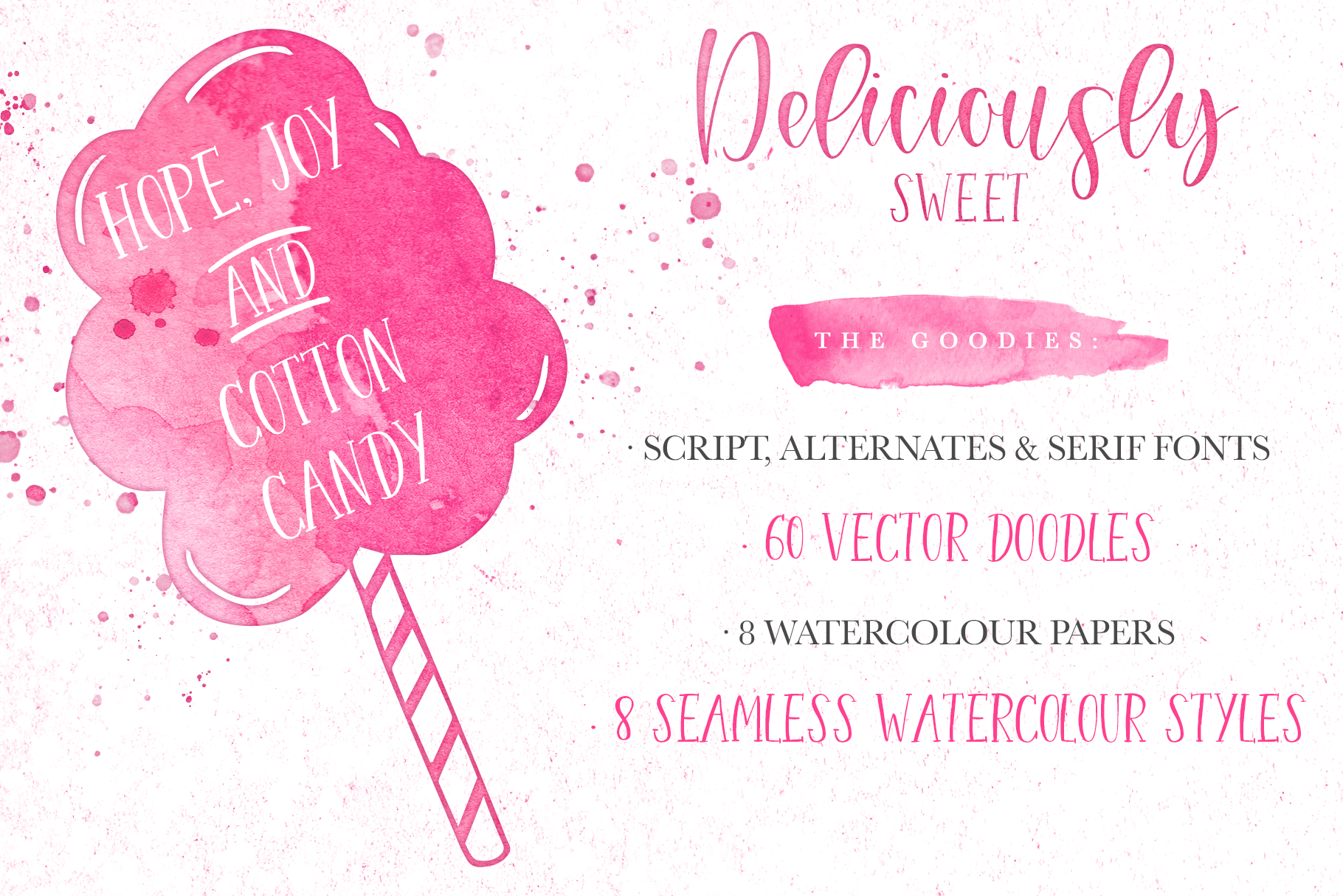 Deliciously Sweet Font Duo example image 6