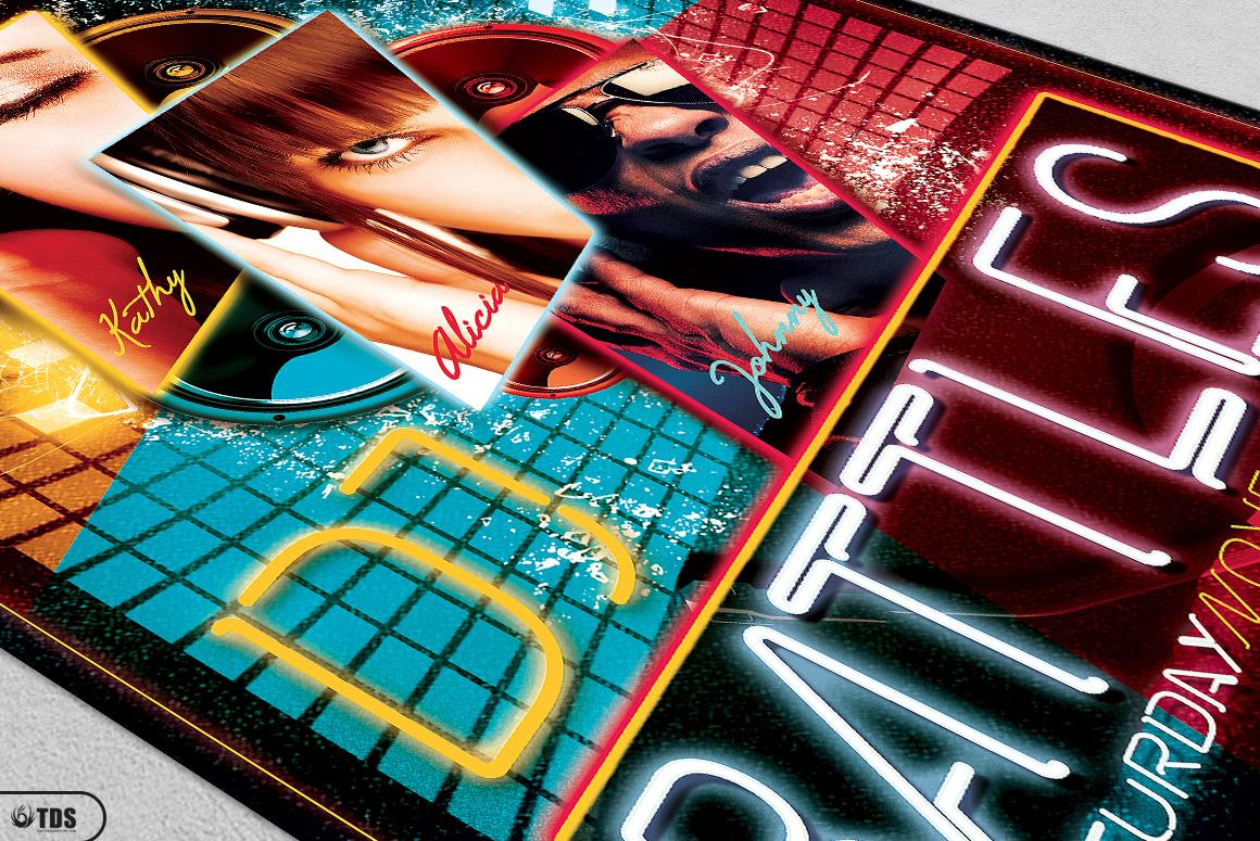 DJ Battle Flyer Template V1 example image 5