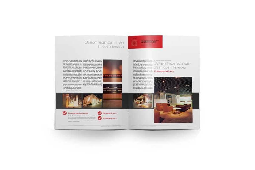 Multipurpose US Letter Magazine Template example image 6