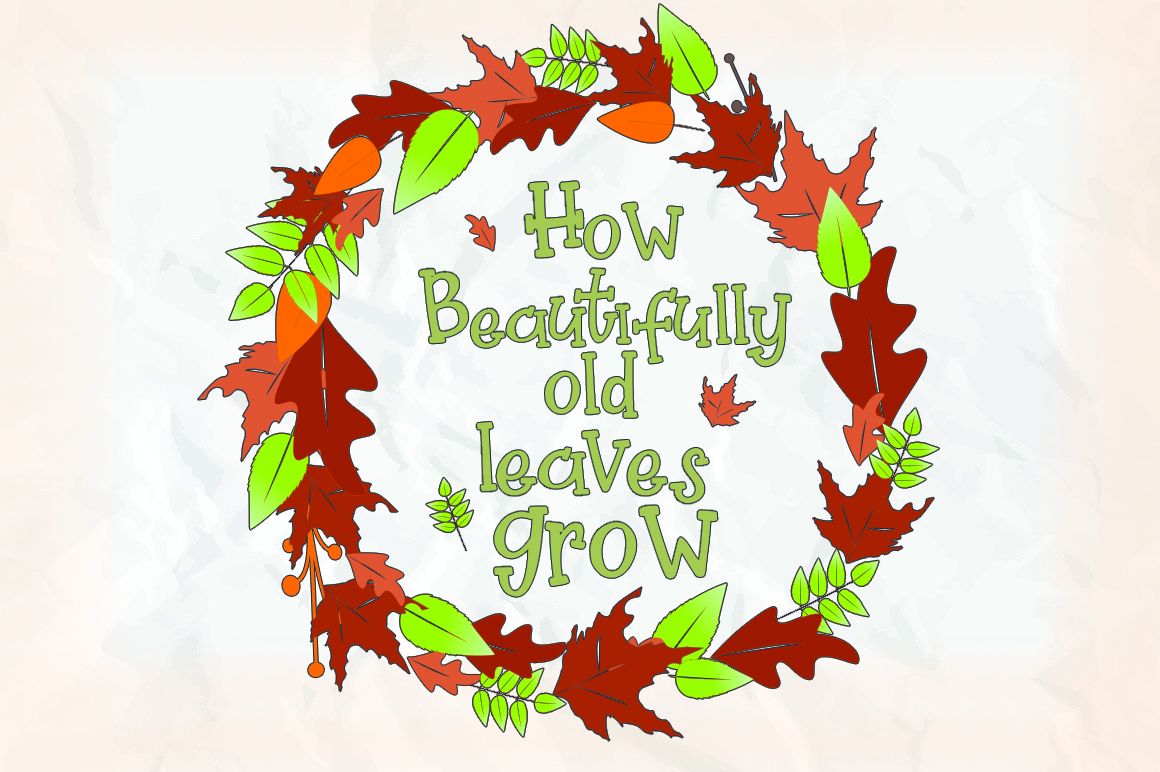 Pretty Pumpkin - Fun Serif Font with Frame example image 10