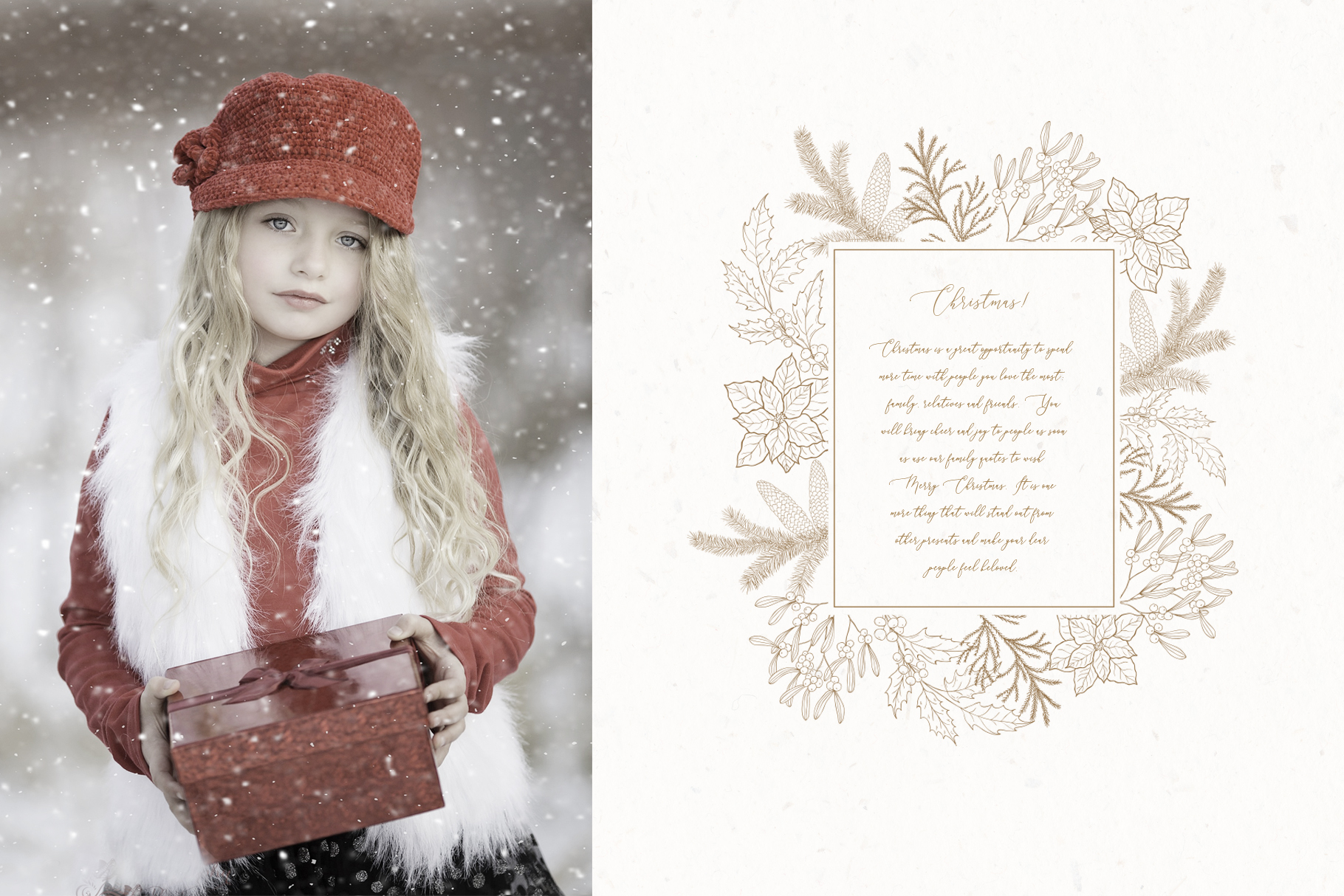 Christmas Time. Winter Bouquets. example image 8