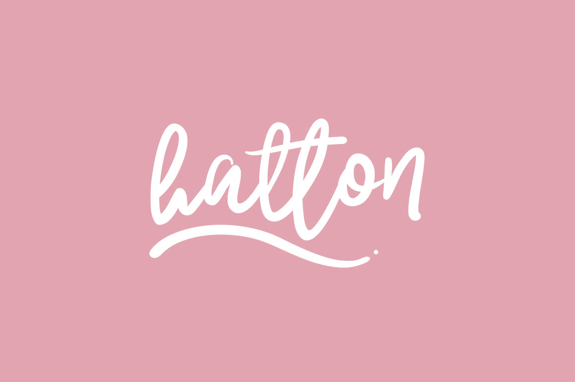 Hatton Typeface example image 1