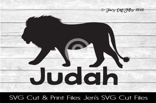 Judah SVG Cut File example image 1