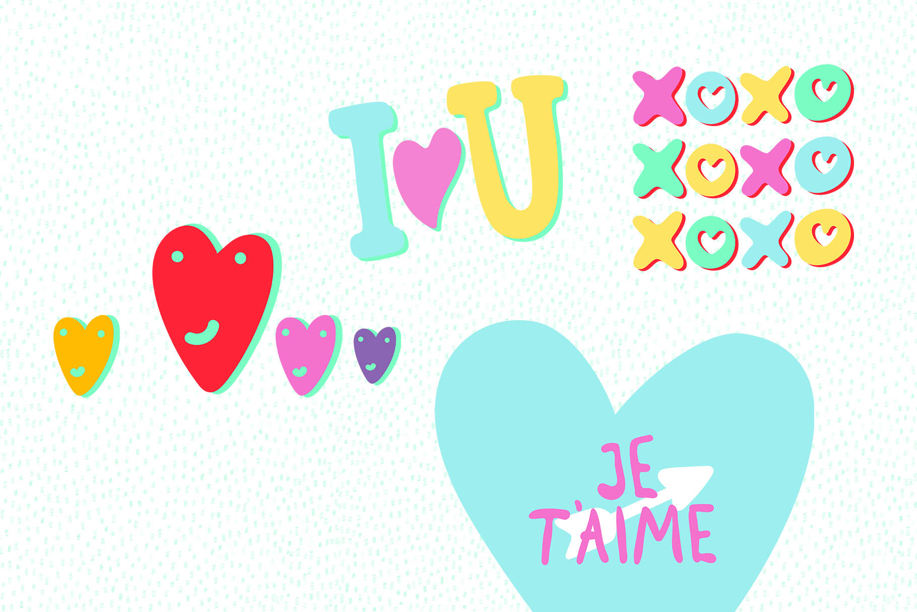Valentine's Day Vector_part 03 example image 1