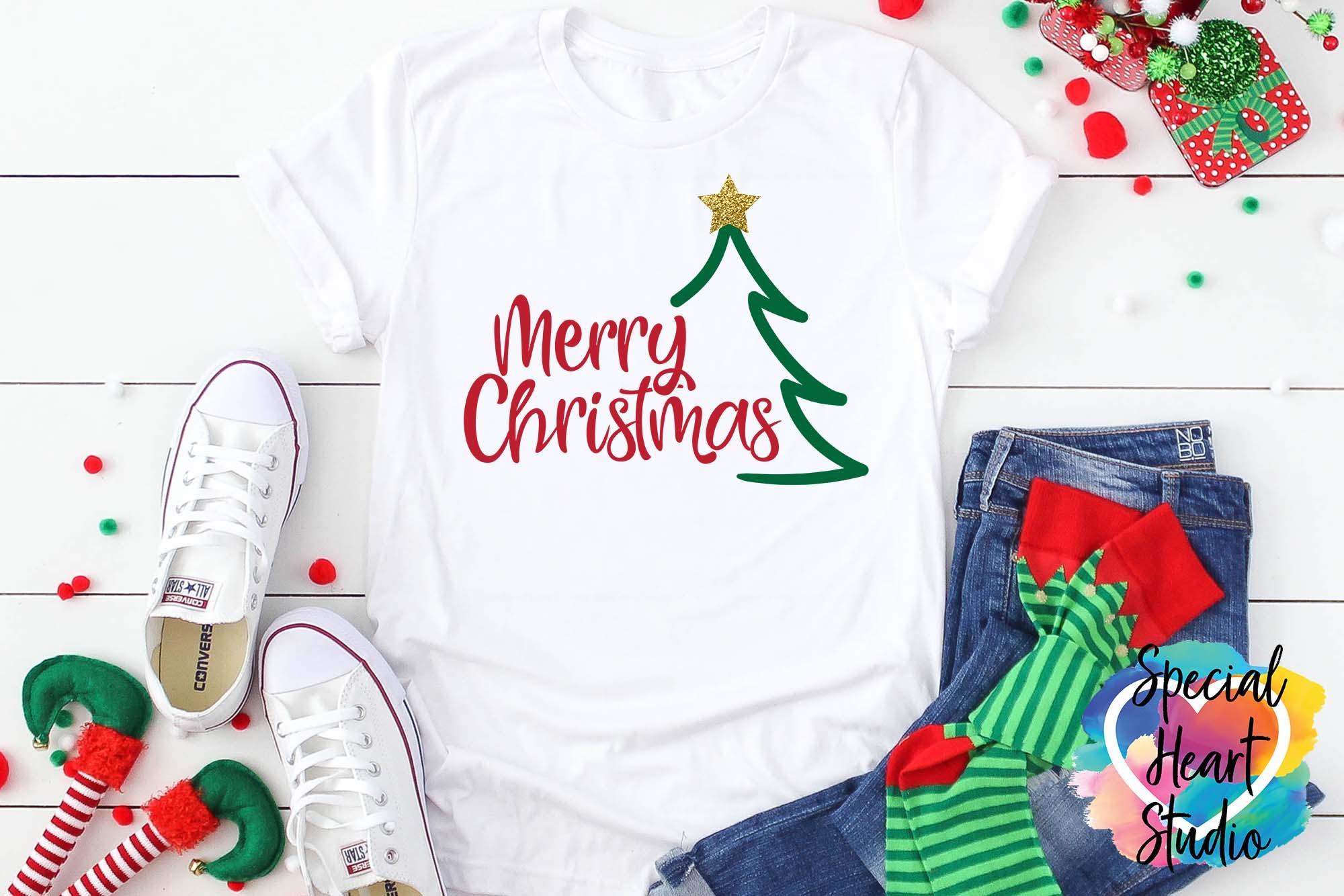Christmas SVG Bundle - A Christmas Shirt SVG Cut File Bundle example image 8