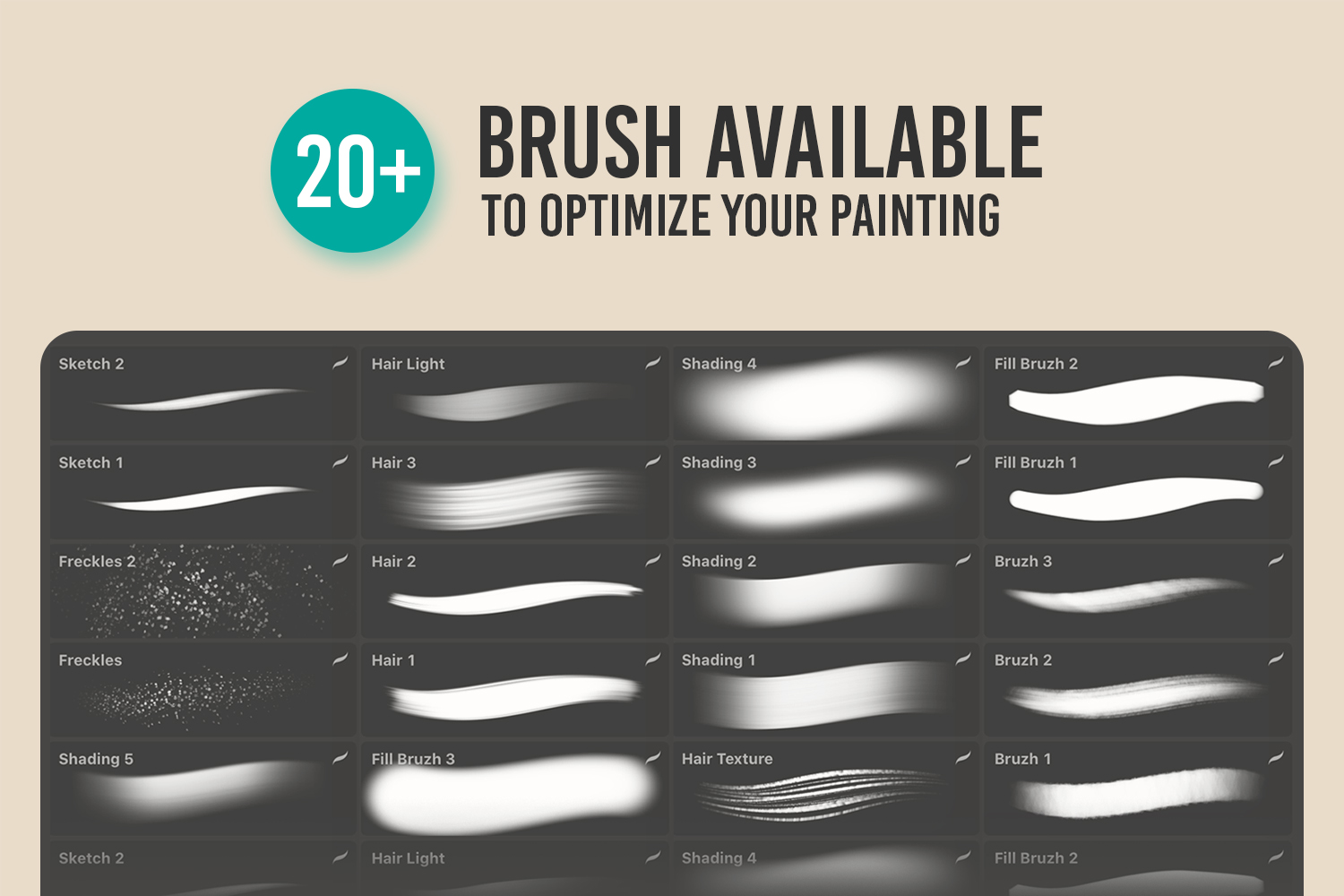 MAGERPAINT - Procreate Painting Brushes example image 2