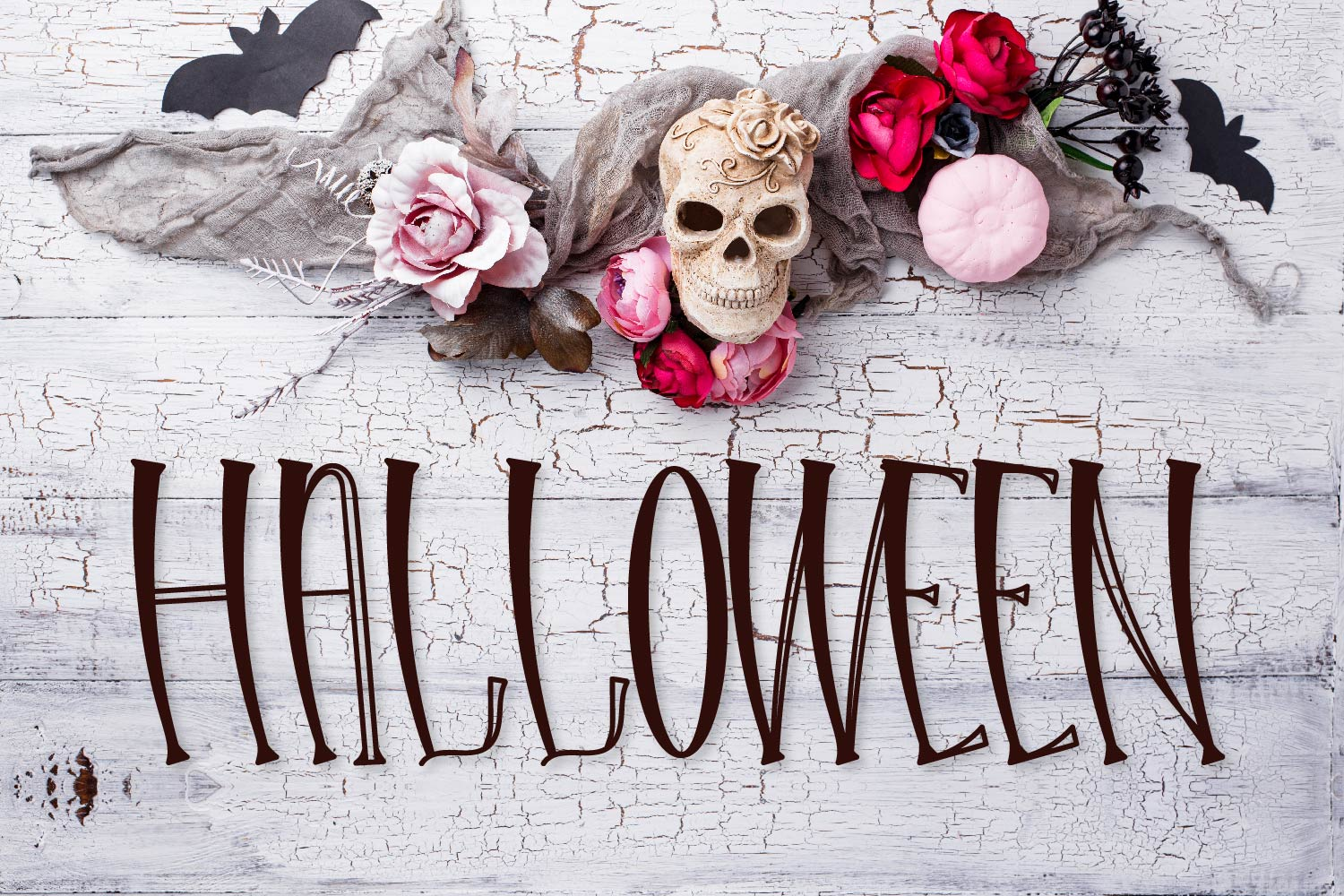 Hello Halloween - A Spooky Font example image 2