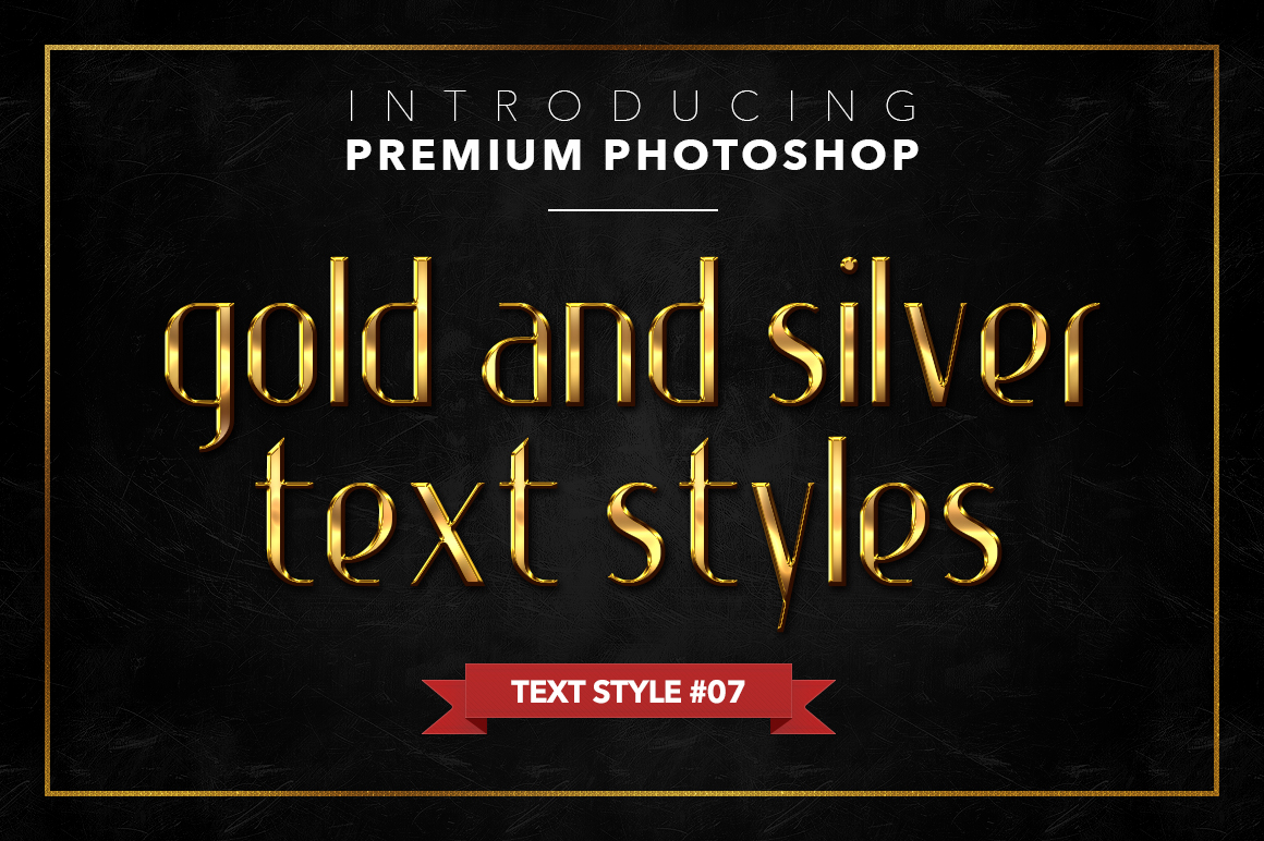 Gold & Silver #1 - 20 Text Styles example image 17