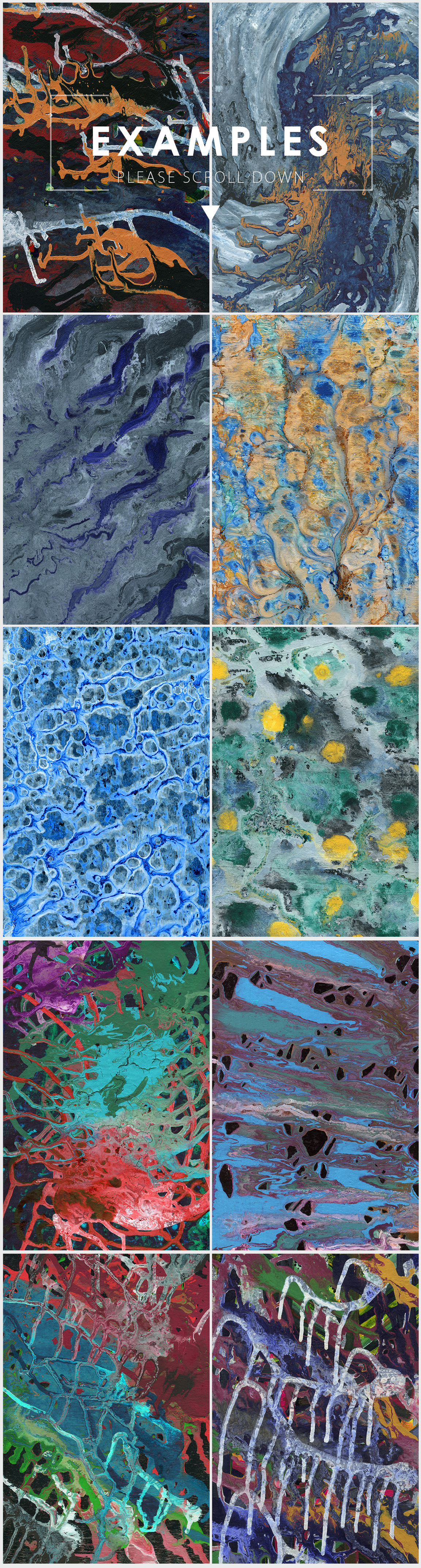 Abstract Paint Backgrounds Vol.2 example image 5