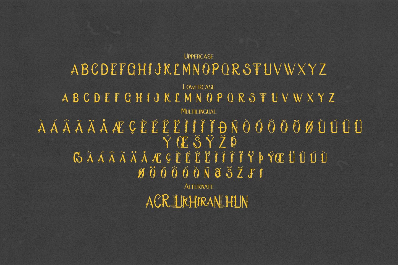 Hukiran Victorian Font example image 6