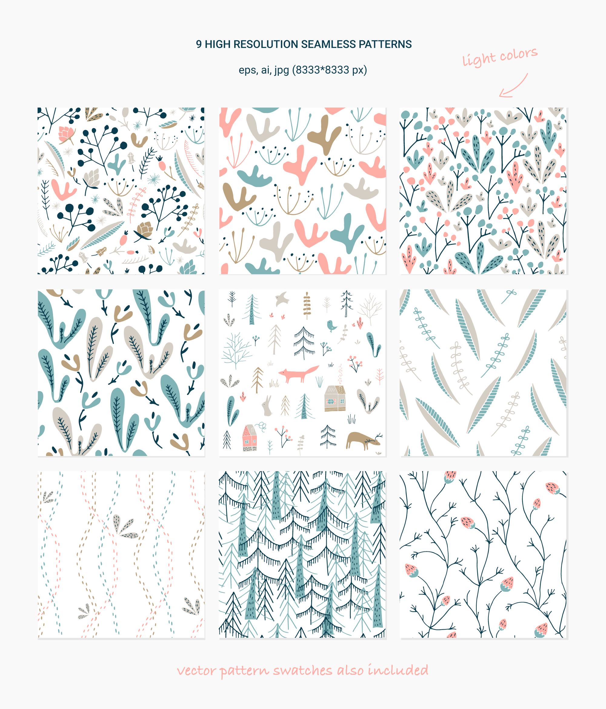 Wildwood pattern collection example image 3