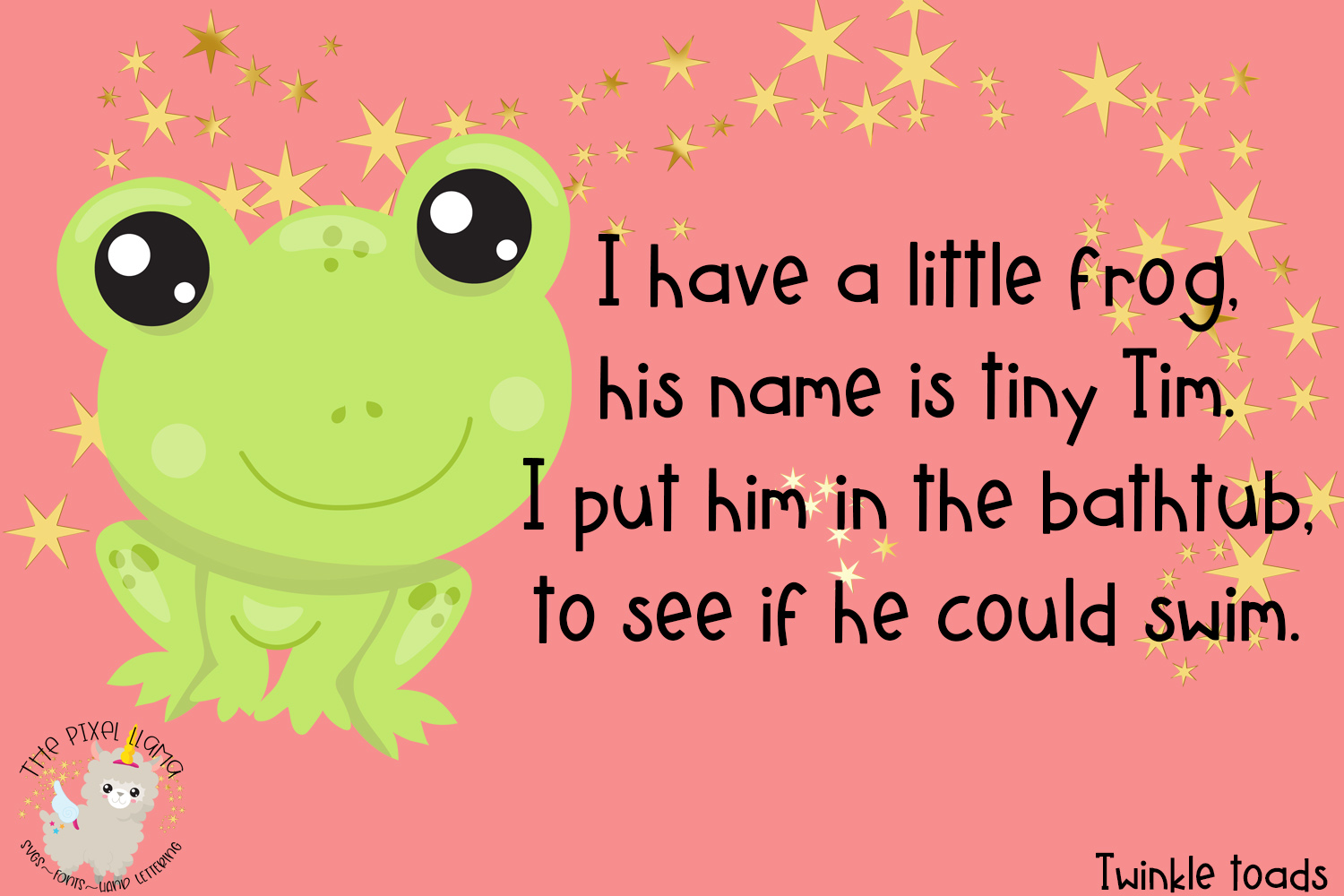 Twinkle Toads Font example image 2