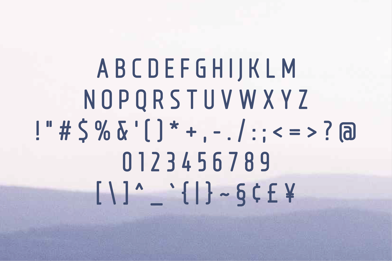 Bouffly Alice Semi-Bold Versionl Elegant font sans serif example image 2
