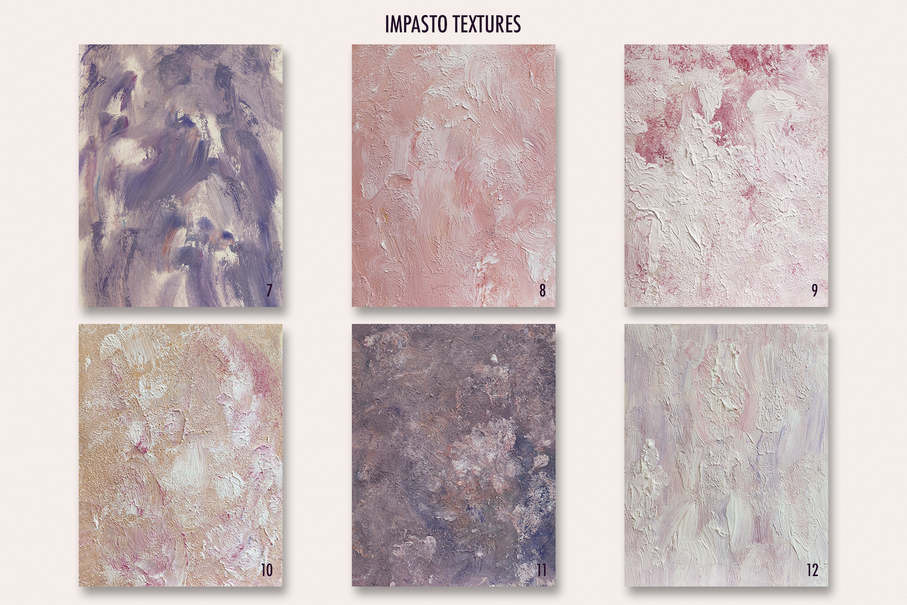 Fine Art Acrylic Paint Textures - Hand Painted Backgrounds example image 14