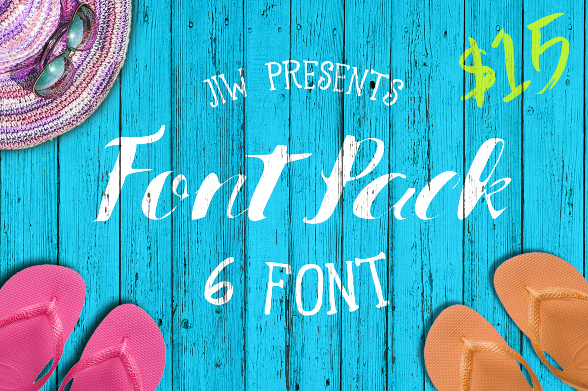 FONT PACK ( 40% OFF ) example image 5