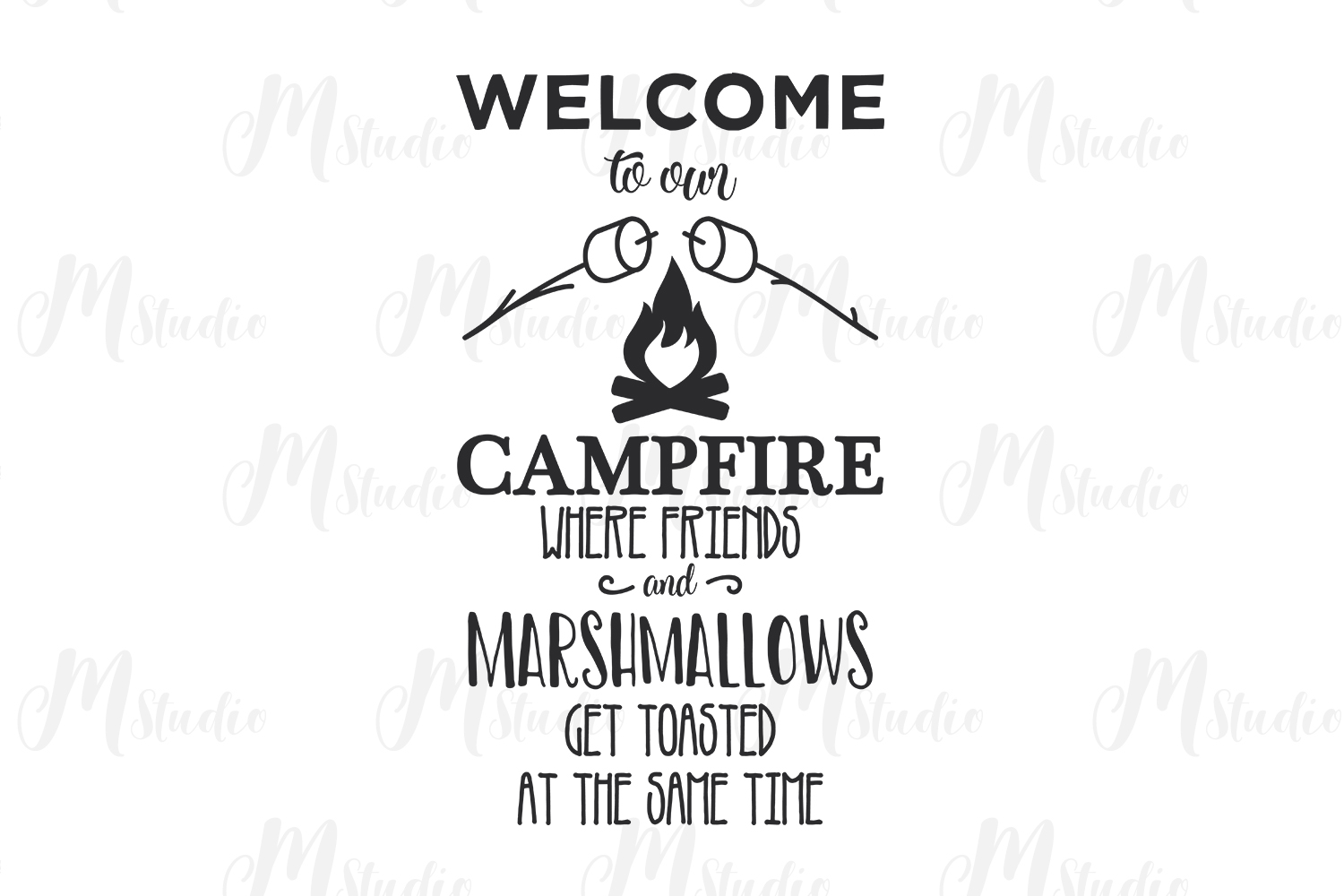 Camping SVG Bundle. example image 25
