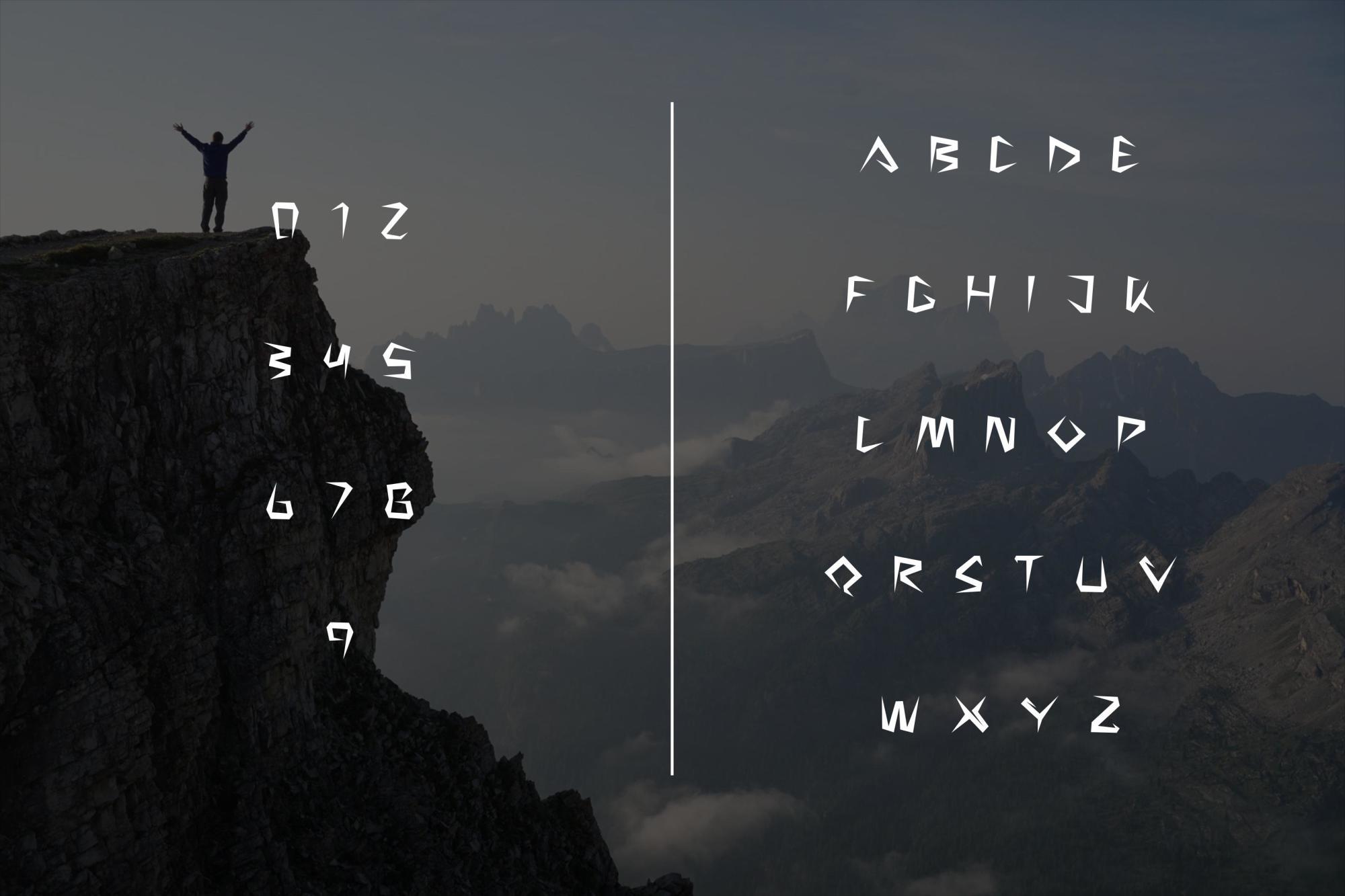 Sakap Typeface Font example image 6