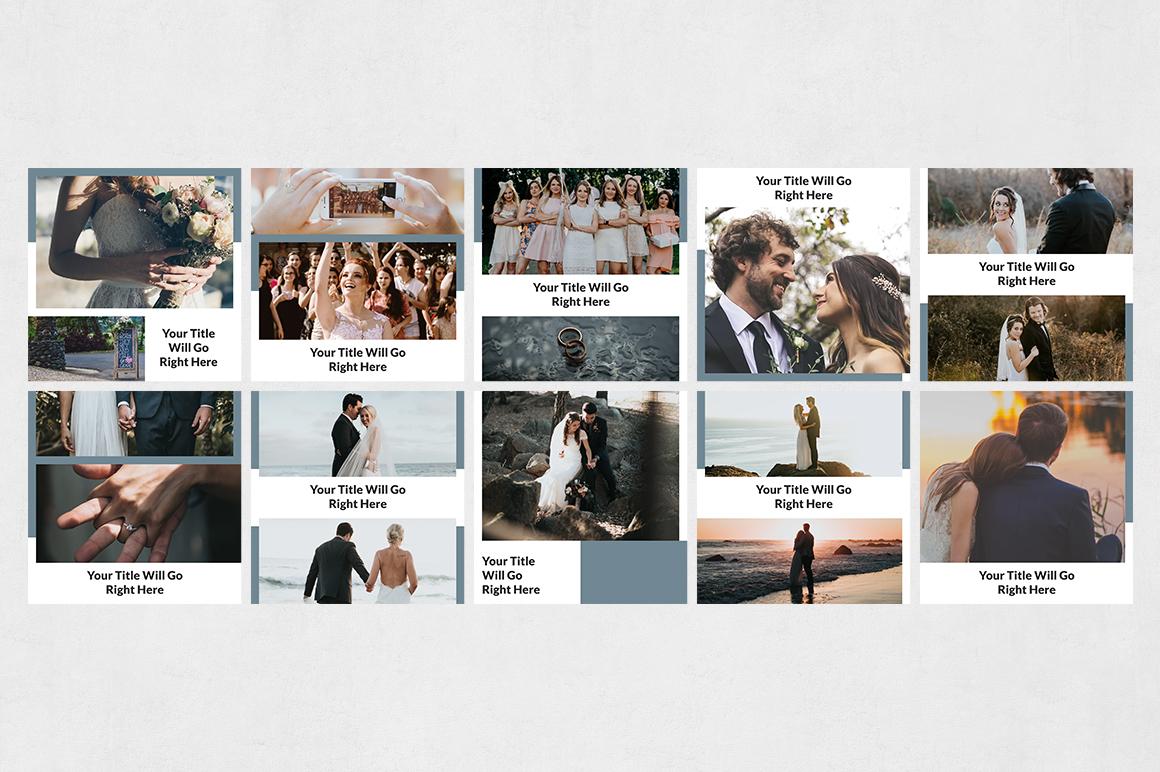Wedding Instagram Posts example image 7