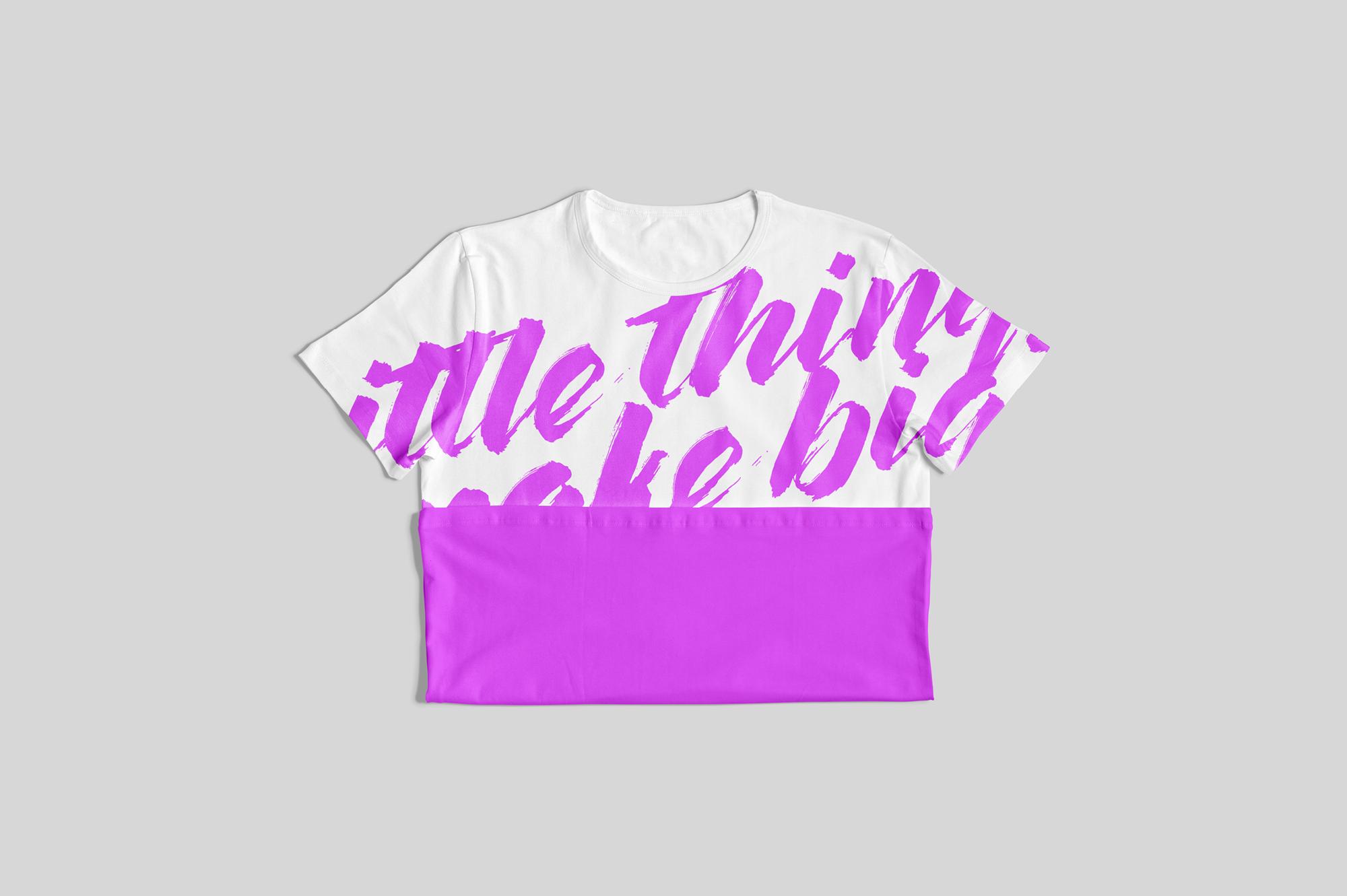 Customizable T-Shirt Mockups Pack example image 12