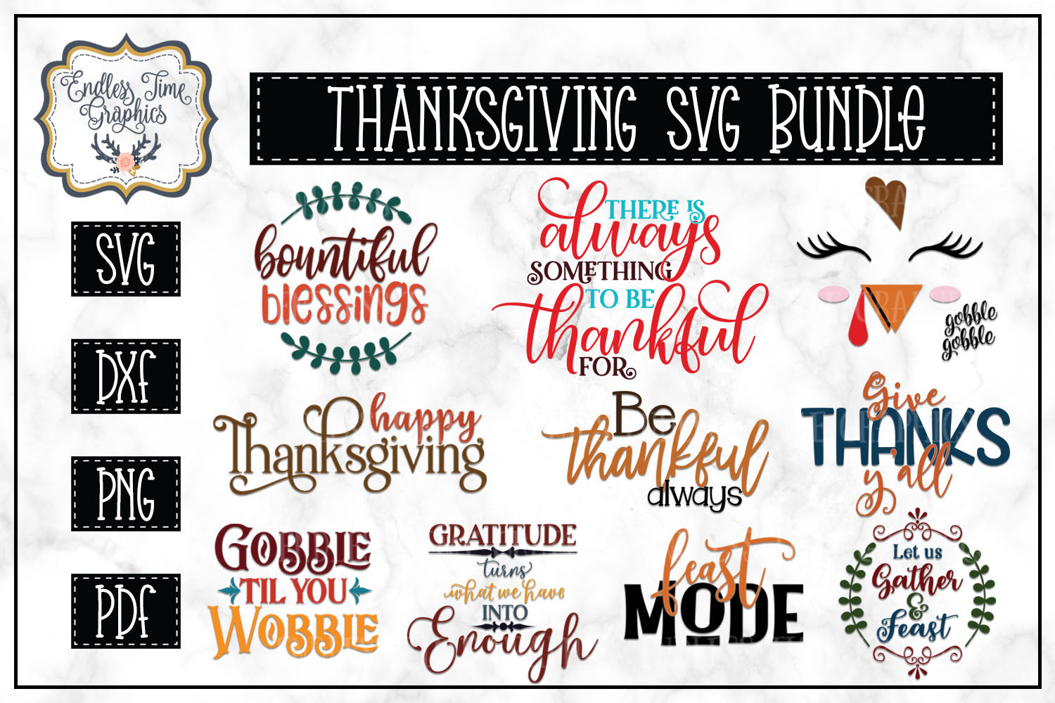 The Ridiculously Huge Bundle SALE - A Massive SVG Collection example image 17