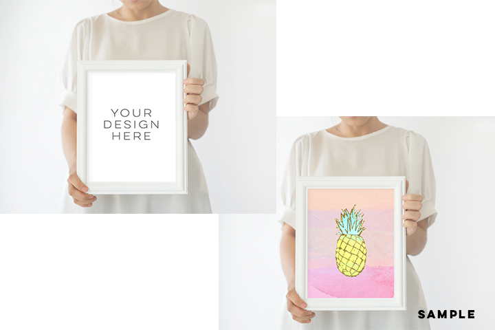 Frame Mock up, White Frame mockups, mockup frame,Instant Download, Digital Download Photo, Styled Background, Frame Stock Photo, Stock image example image 3