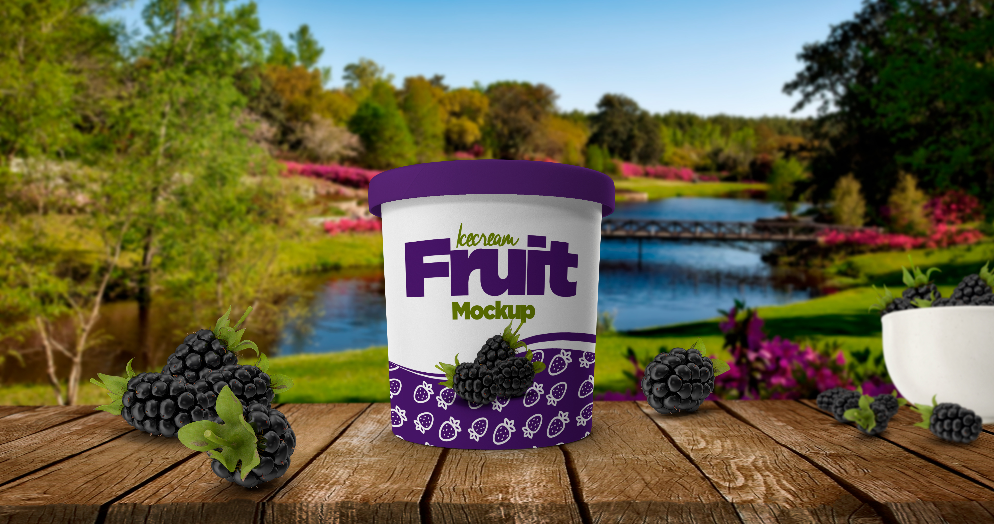 Ice Cream Cup Mockup example image 9