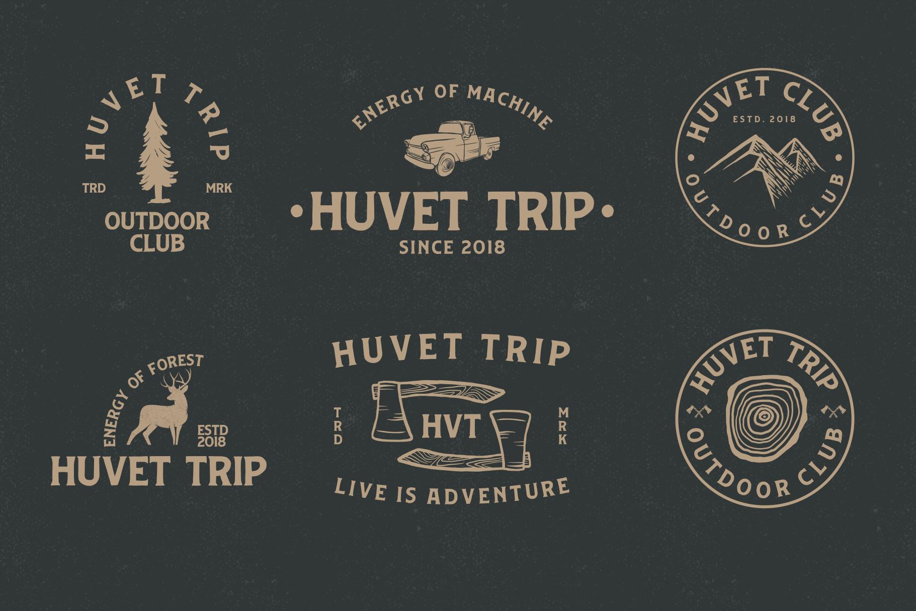 Huvet Typeface example image 2
