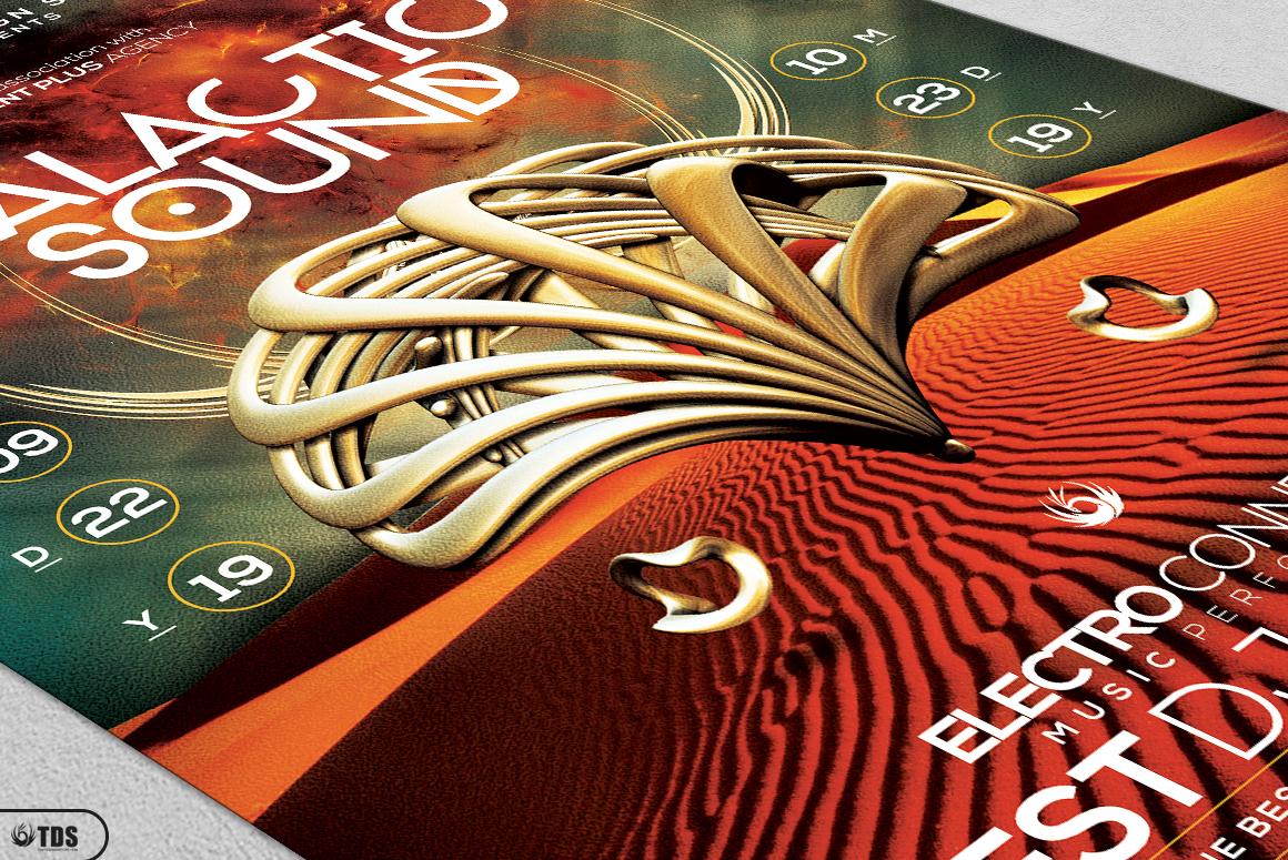Galactic Sound Flyer Bundle example image 12