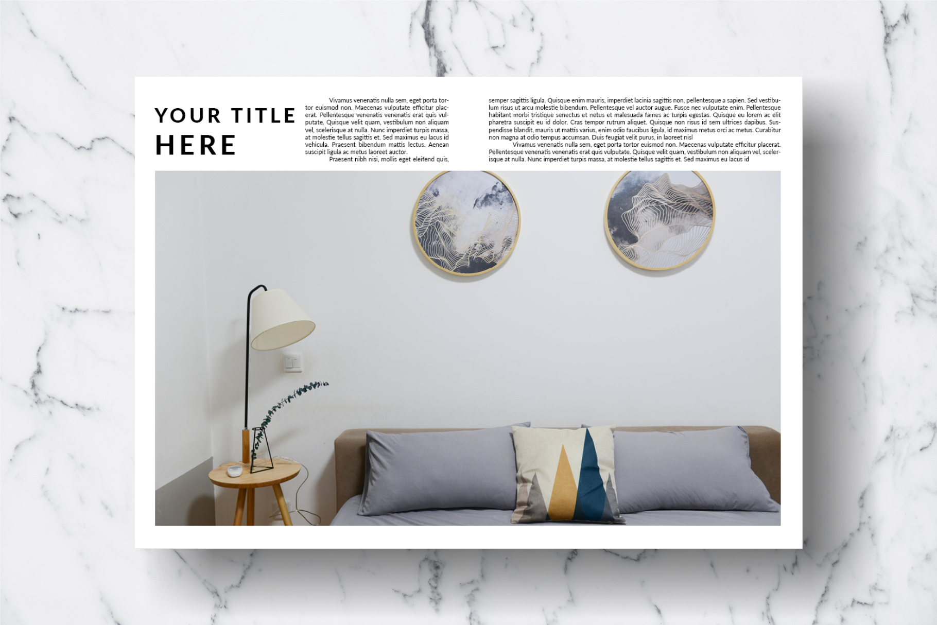 Magazine Template Vol. 14 example image 9