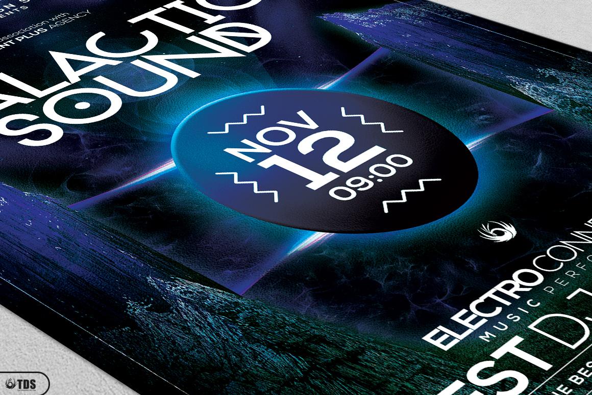 Galactic Sound Flyer Bundle example image 15