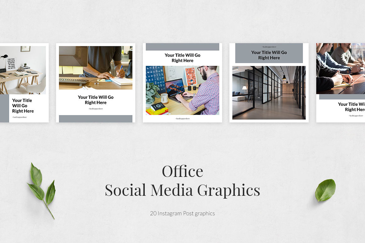 Office Instagram Posts example image 2