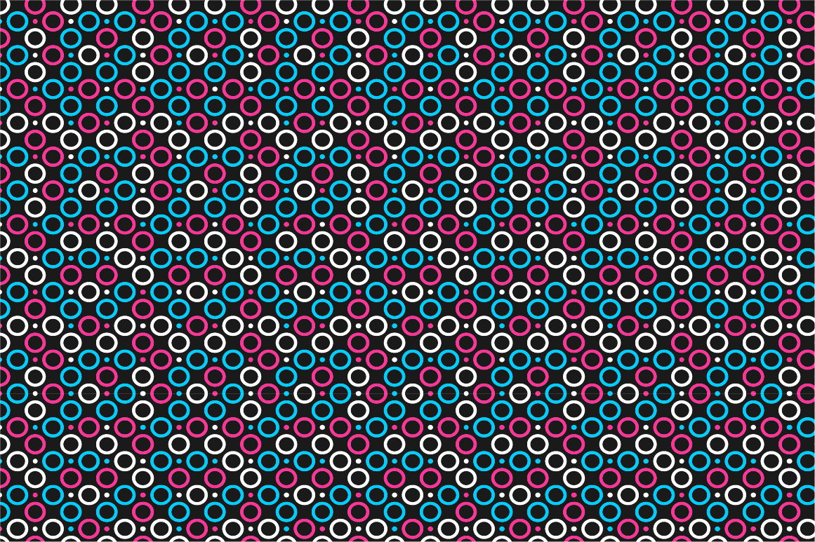 Geometric seamless color patterns. example image 8