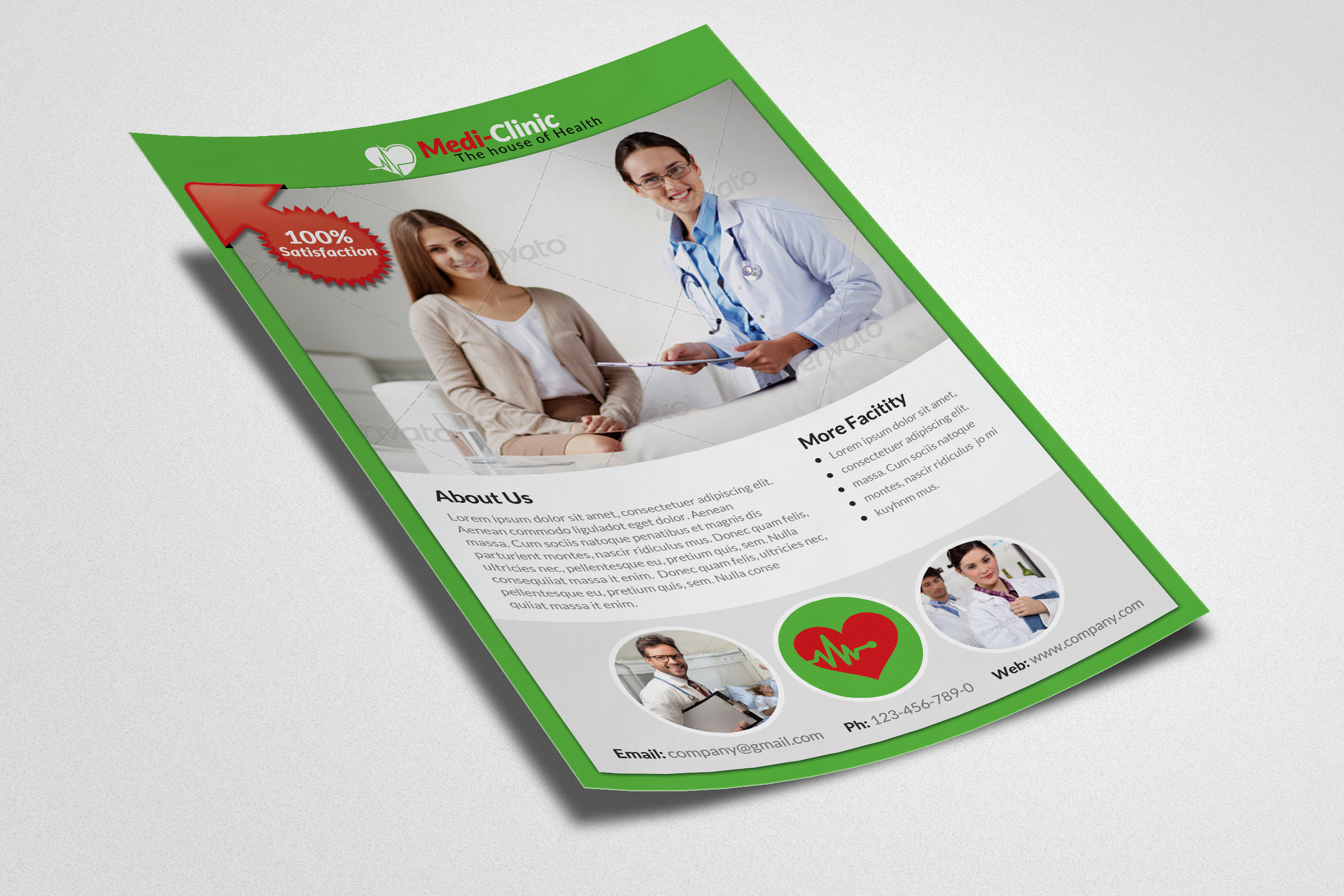 Medical Doctor Flyer Template example image 3