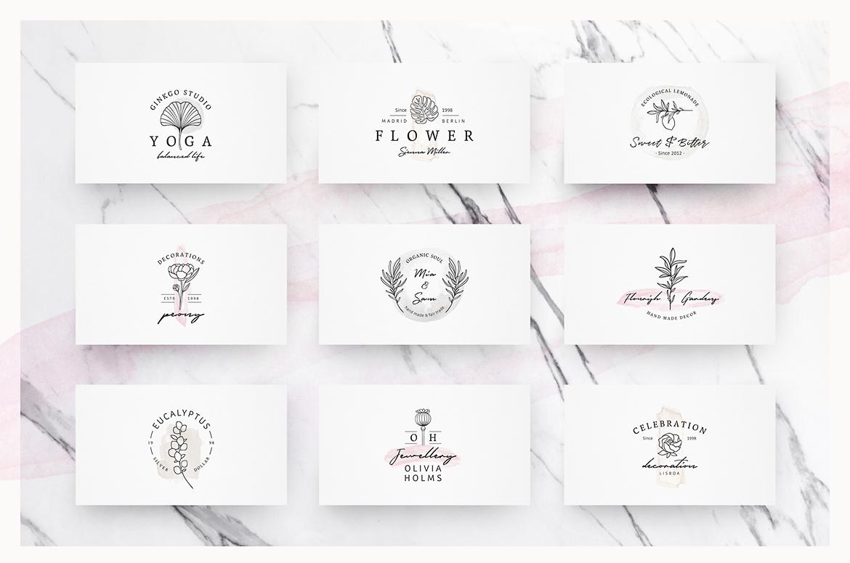 So Flowery Branding Kit + Watercolours example image 9