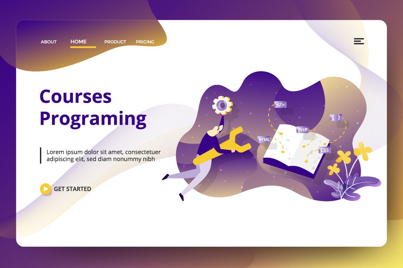 Education Online Vol 2 sets Illustration example image 6