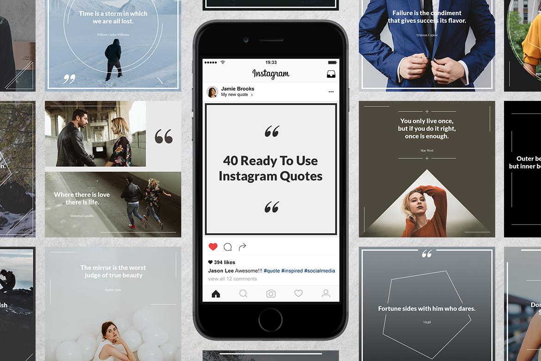 40 Instagram Quotes  example image 1