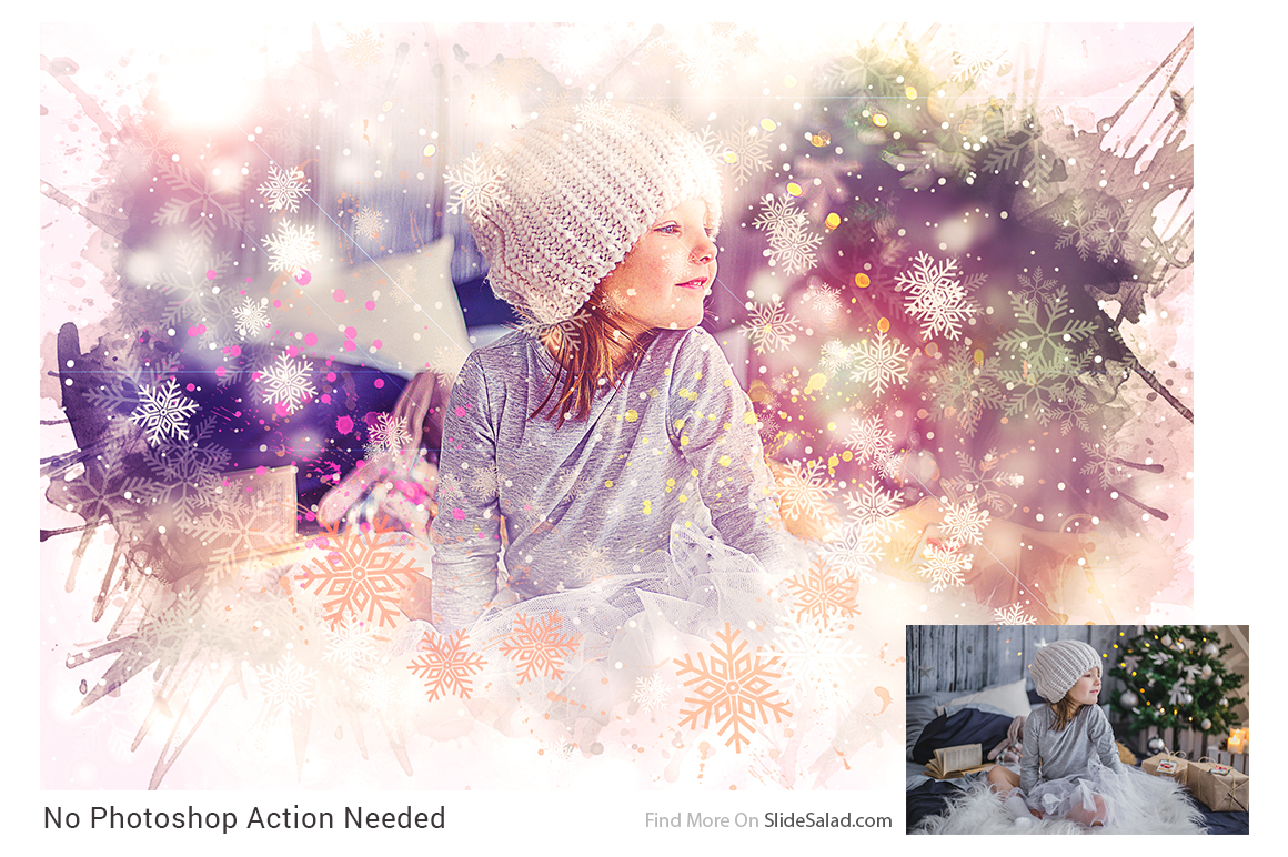 Christmas Photoshop Mock-ups example image 7