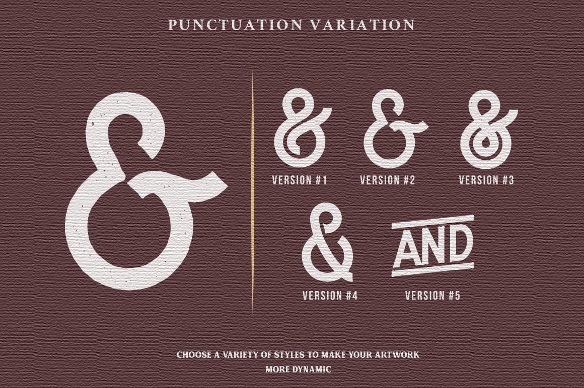 DELFINA - Vintage Sans Serif Font example image 9