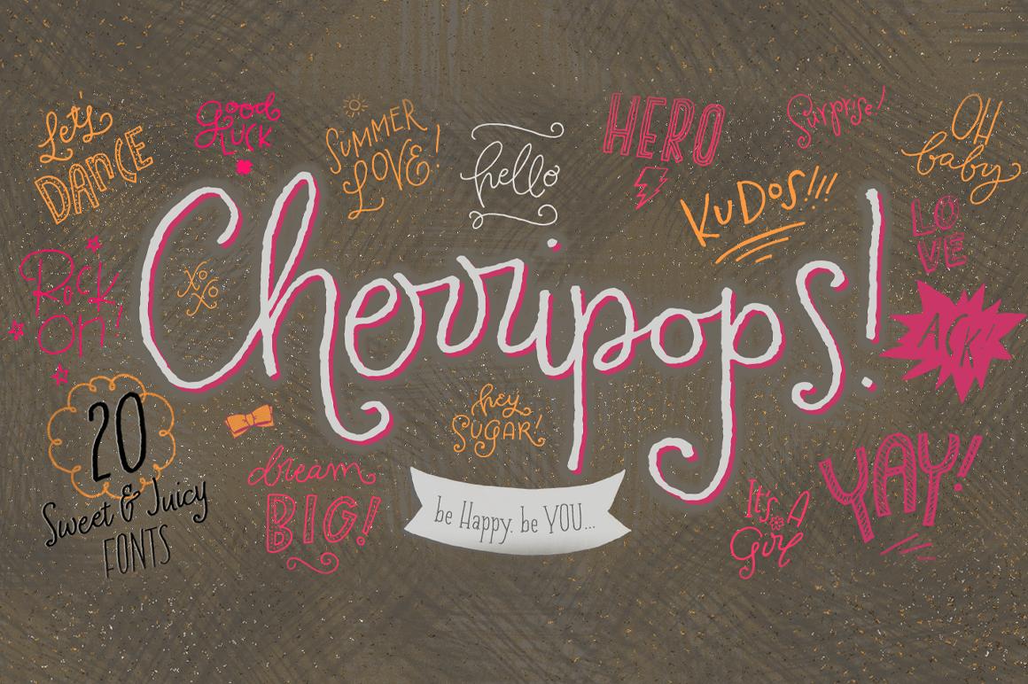 Cherripops Family - 20 pack example image 1