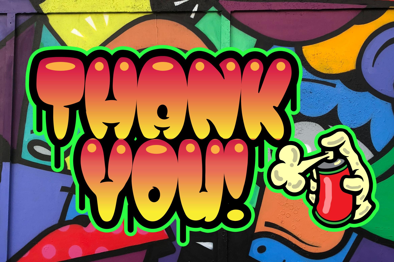 Street Pops - Graffiti Typeface example image 6
