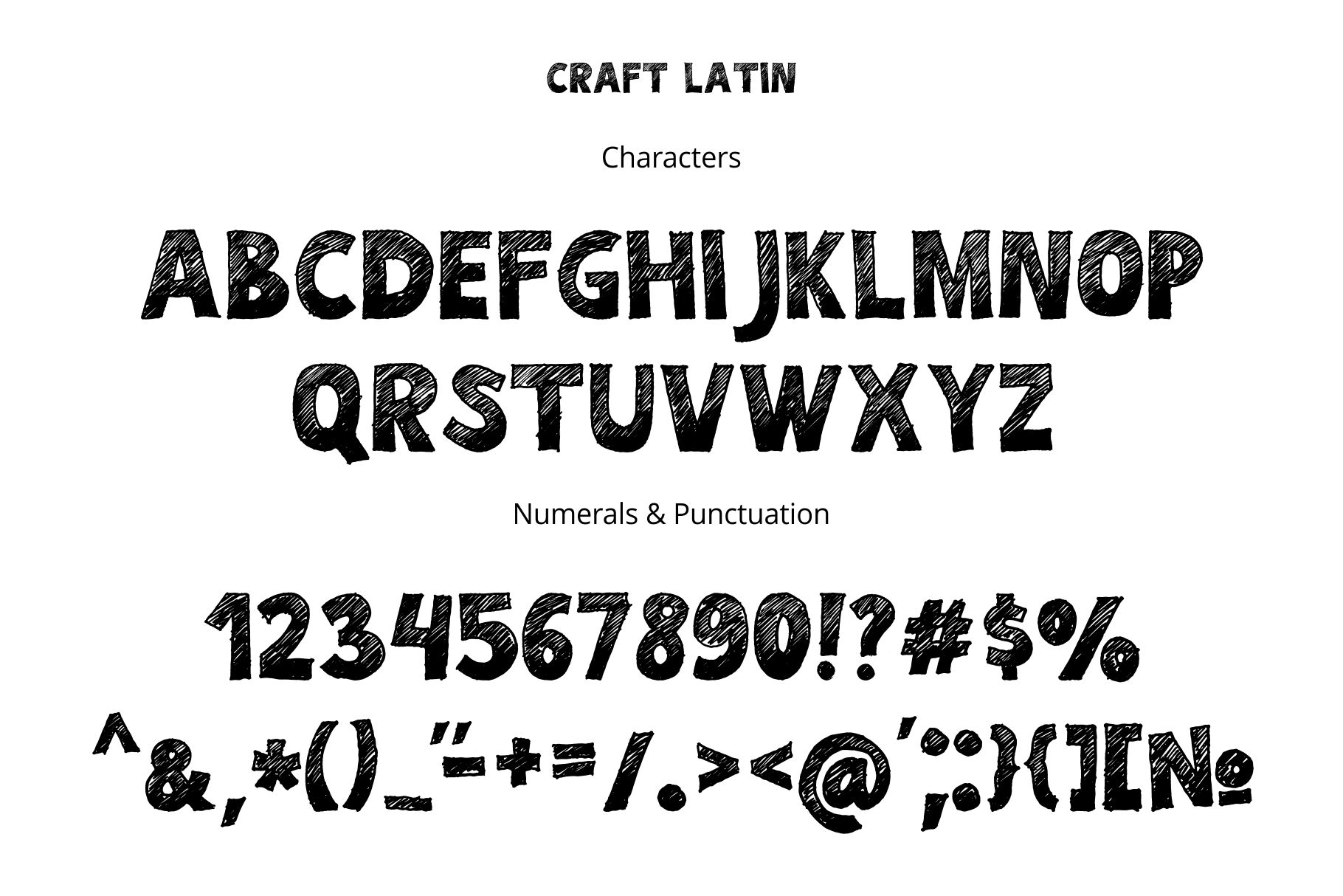 Craft Font example image 2