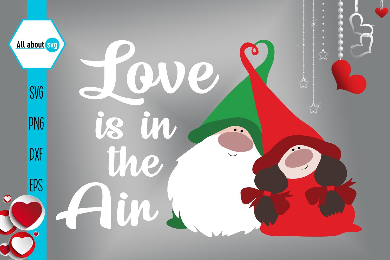Gnomies Love Svg, Valentine's Day Svg, Gnome svg example image 2