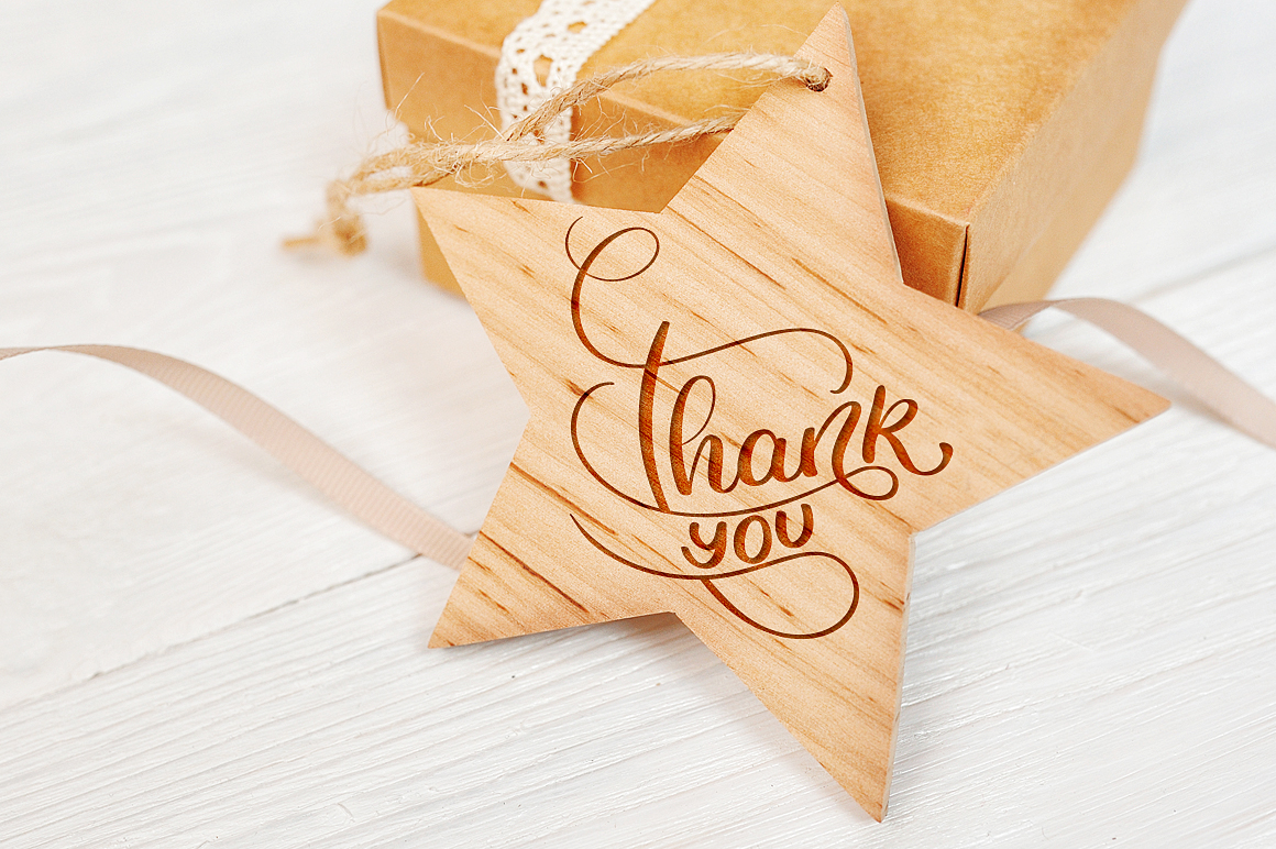Thank You Calligraphy Lettering Collection example image 3