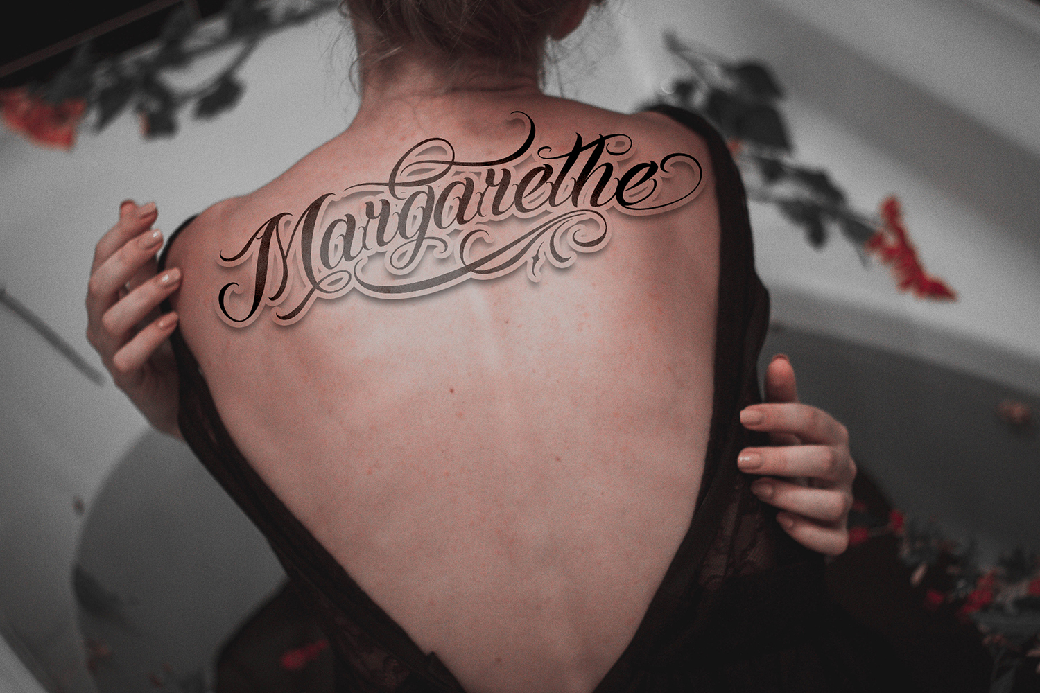 Chicano Font | Tattoo Style example image 5