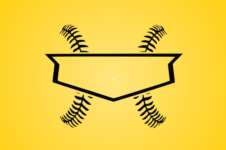 Baseball SVG, Home plate svg, diamonds plate example image 1