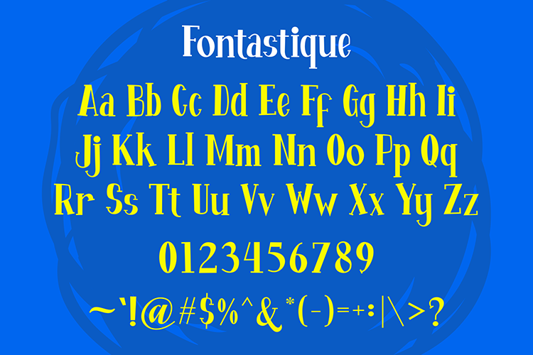 Fontastique example image 4