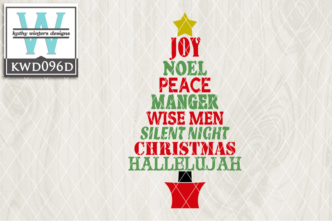 Christmas Cutting File KWD096D example image 1
