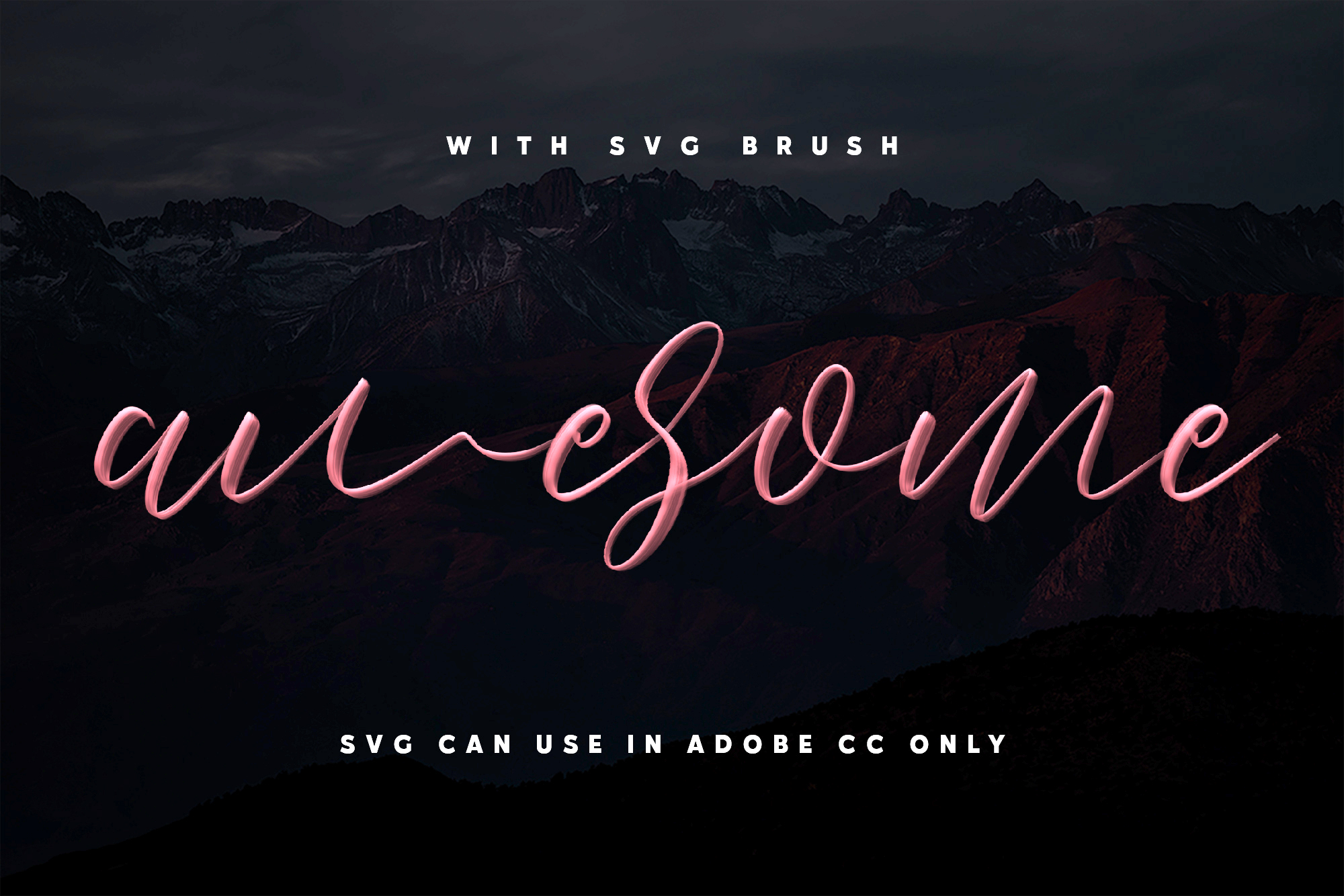 Love Brush SVG Font - Free Sans example image 2