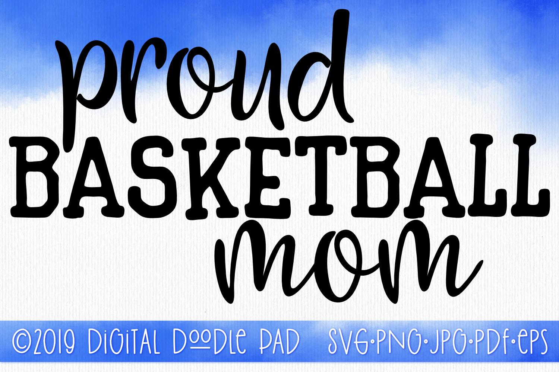 Basketball Mom SVG, Sports SVG example image 1